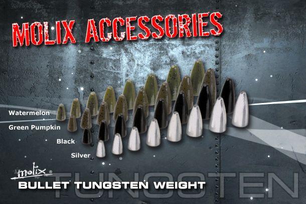 MOLIX bullet tungsten 3/8 oz.