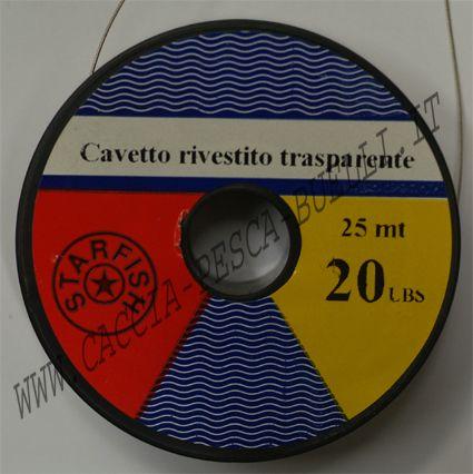 STARFISH CAVETTO ACCIAIO TERMOSALDANTE 130LB TRASPARENTE